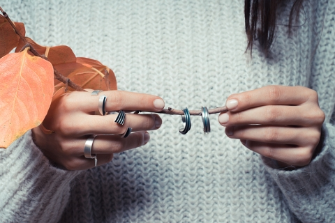 silver, papadoukas, CP, minimal, ring, serifos, fashion